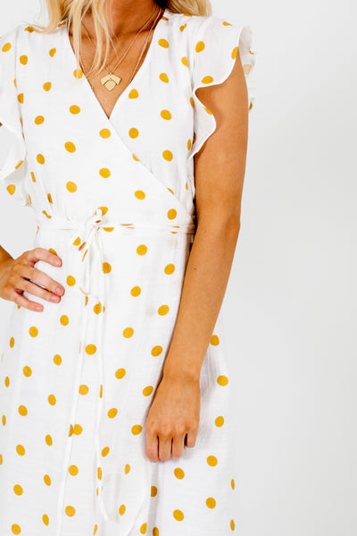 White and Mustard Yellow Affordable Online Boutique Clothing for Women