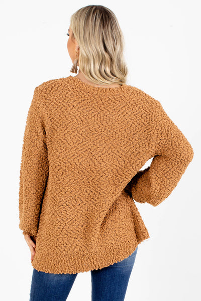 Don't Mention It Popcorn Knit Sweater