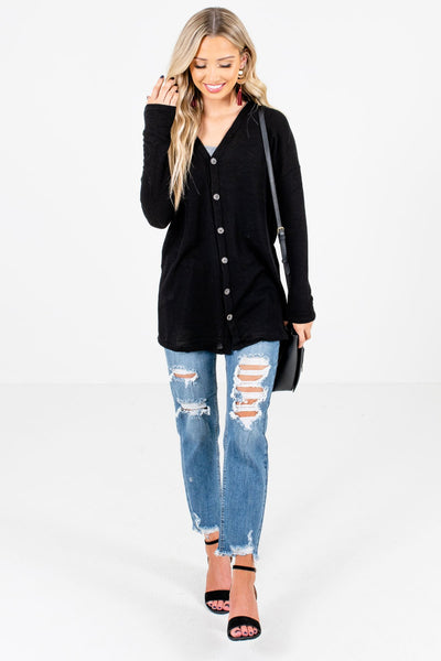 Women's Black Fall and Winter Boutique Clothing