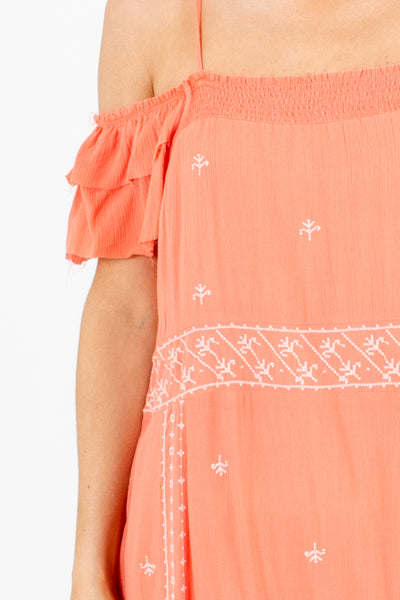 Coral Affordable Online Boutique Clothing for Women