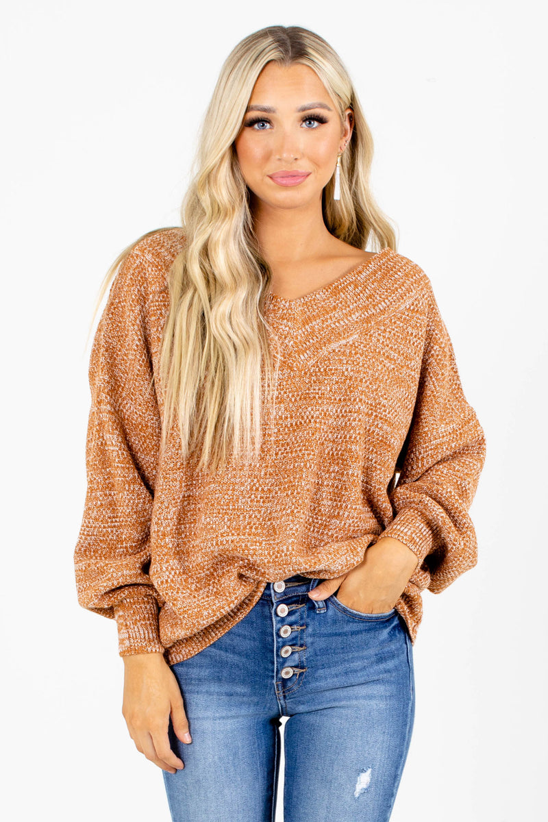 Down to Earth Knit Sweater