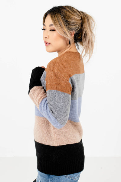 Light Blue Cozy and Warm Boutique Sweaters for Women
