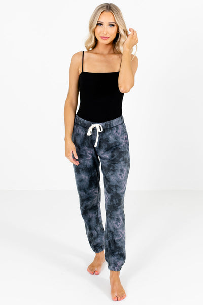 Women's Charcoal Gray Lightweight High-Quality Boutique Joggers