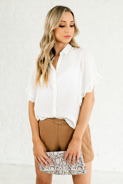 Camel Brown Neutral-Colored Boutique Clothing for Women