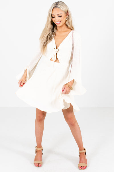 Women's Ivory Spring and Summertime Boutique Clothing