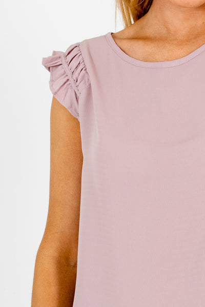 Dusty Mauve Affordable Online Boutique Clothing for Women