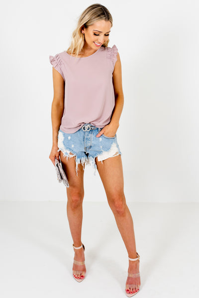 Women's Dusty Mauve Spring and Summertime Boutique Clothing