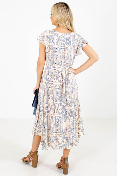 Evening in Spain Patterned Midi Dress
