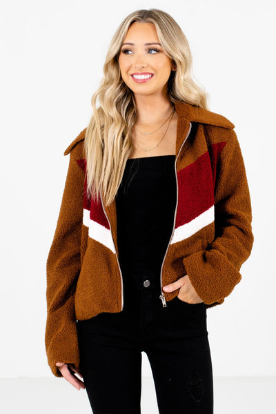 Women's Brown Cozy and Warm Boutique Clothing