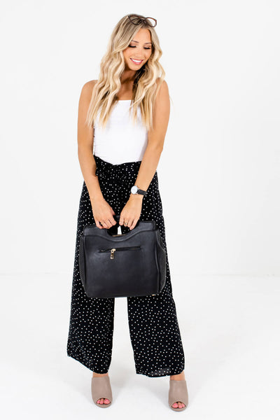 Black Palazzo Style Boutique Pants for Women