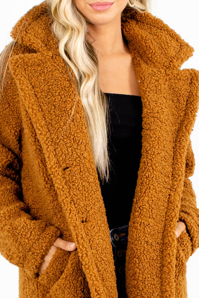 Camel Brown Affordable Online Boutique Clothing for Women