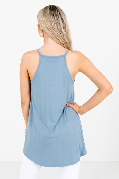 Blue Spring and Summertime Boutique Clothing
