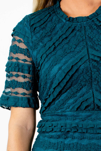 Teal Affordable Online Boutique Clothing for Women