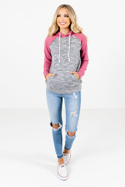 Women's Pink Fall and Winter Boutique Clothing