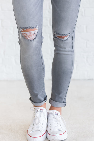 Distressed Boutique Denim Jeans