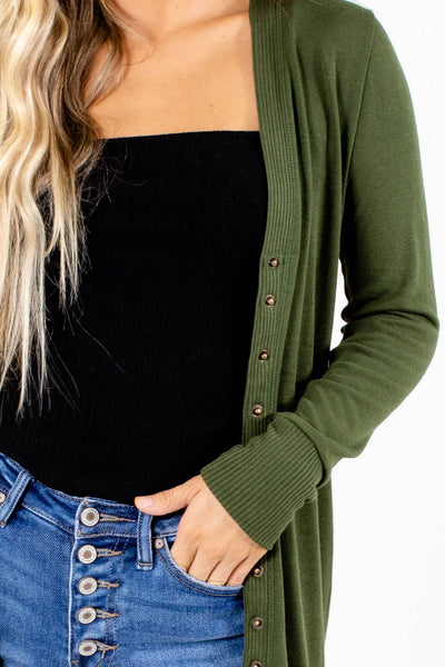 Green Affordable Online Boutique Clothing for Women