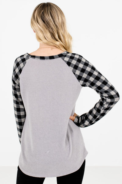 Women's Black Soft High-Quality Boutique Tops