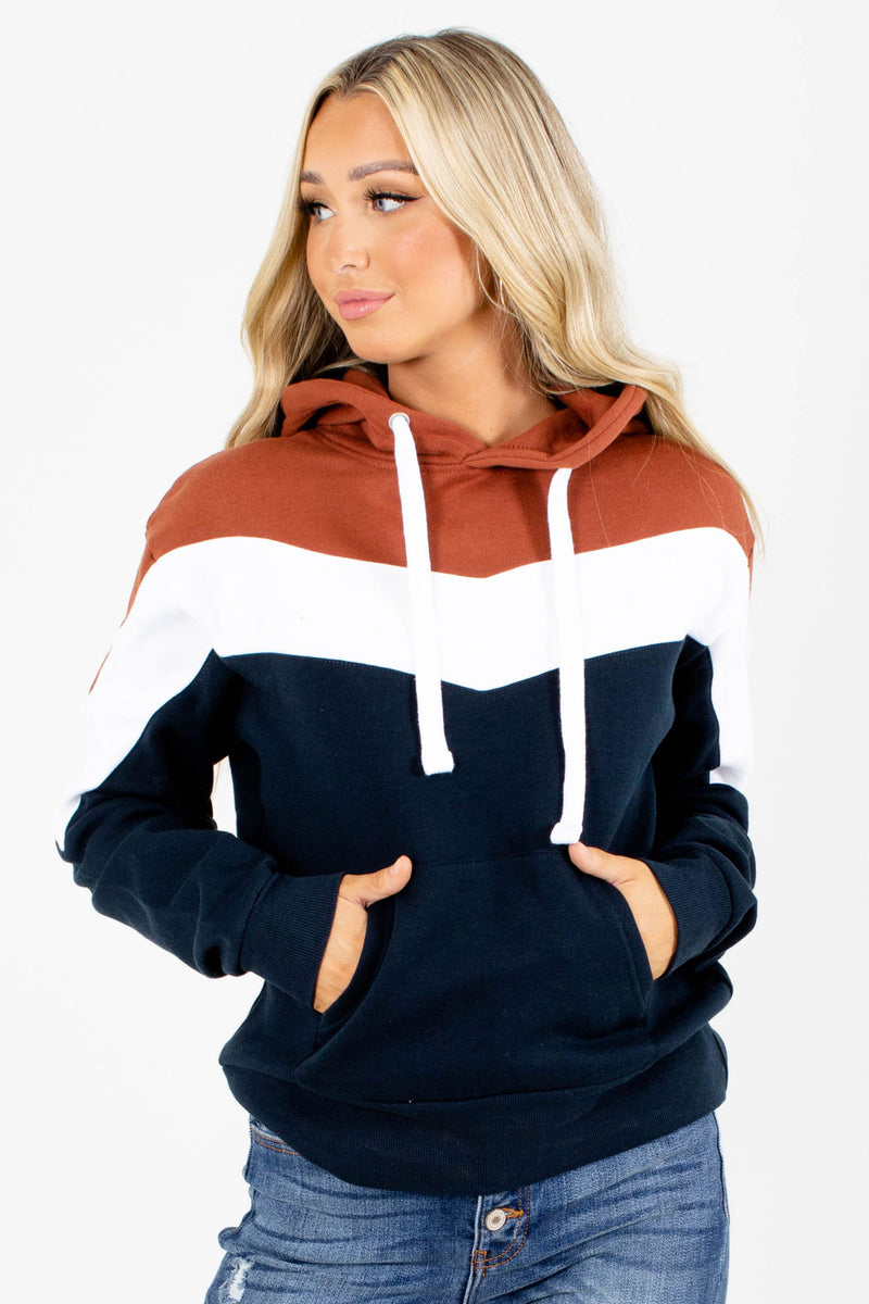 Great Outdoors Color Block Hoodie