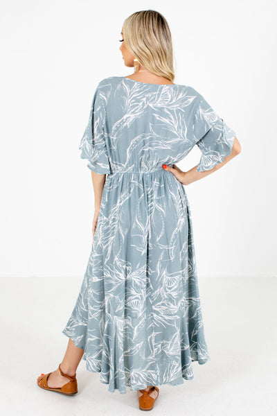 Consider Me Gone Patterned Maxi Dress