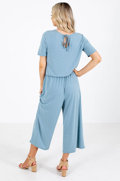 Blue Cute and Comfortable Boutique Jumpsuits for Women