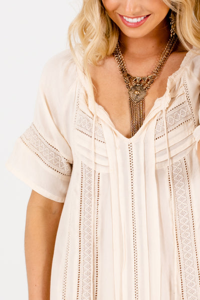 Cream Affordable Online Boutique Clothing for Women