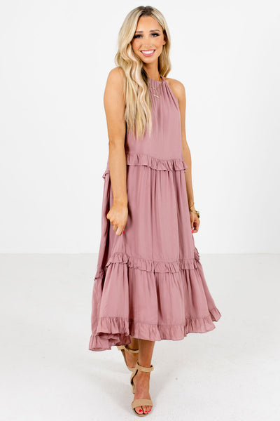 Women's Mauve Spring and Summertime Boutique Clothing