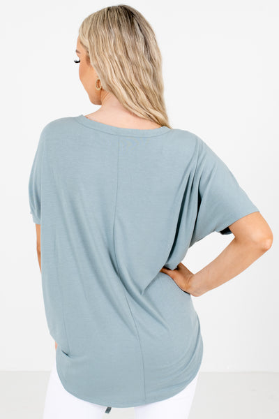 Women's Green Cute and Comfortable Boutique Tops