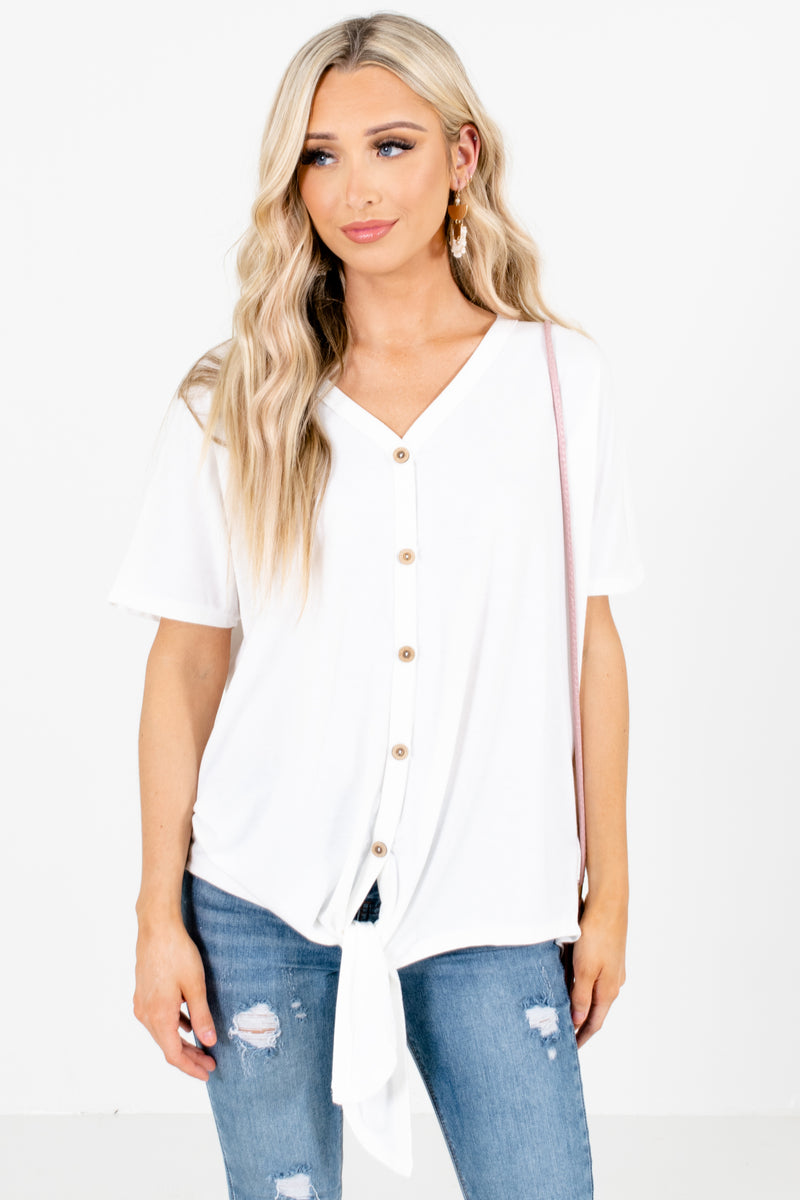 Hey You Button-Up Top