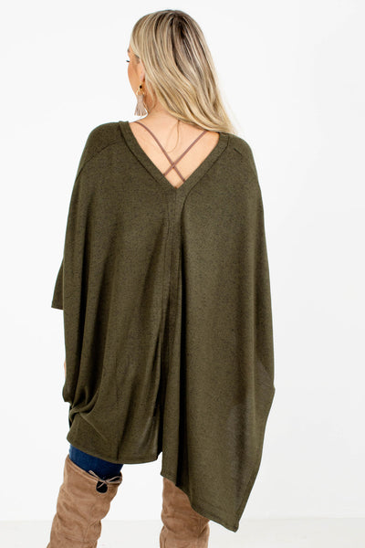 Green Oversized Fit Boutique Tops for Women