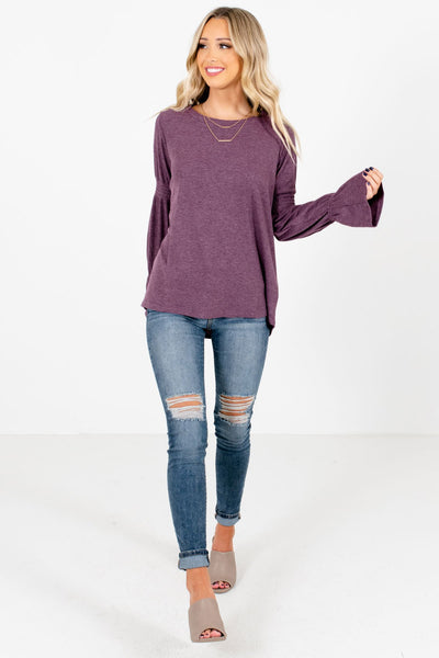 Women's Purple Fall and Winter Boutique Clothing