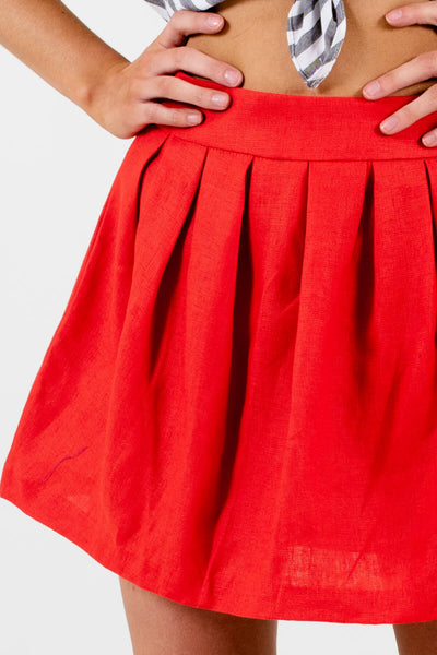 Red Affordable Online Boutique Clothing for Women