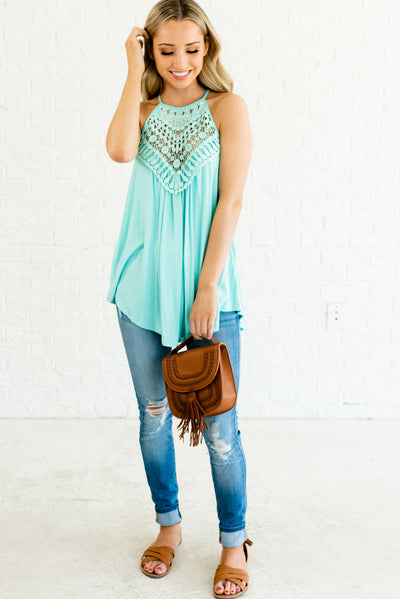 Mint Blue Affordable Online Boutique Clothing for Women