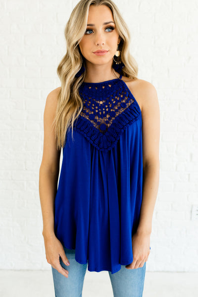 Royal Blue Spring and Summer Boutique Women's Fashion