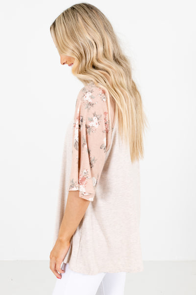 Pink Casual Everyday Boutique Tops for Women