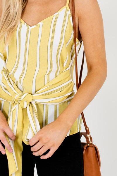 Yellow-Green Affordable Online Boutique Clothing for Women