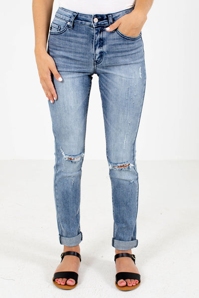 Medium Wash Blue Boutique KanCan Jeans for Women