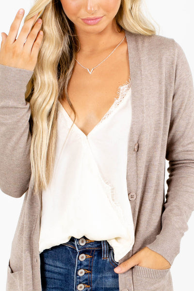 If I Fall Button-Up Cardigan