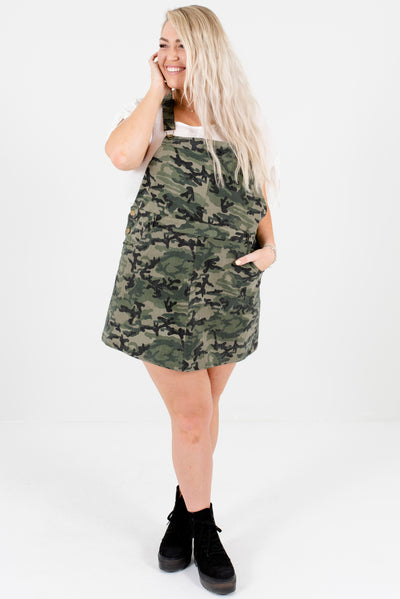 Women's Green Spring and Summertime Boutique Plus Size Clothing