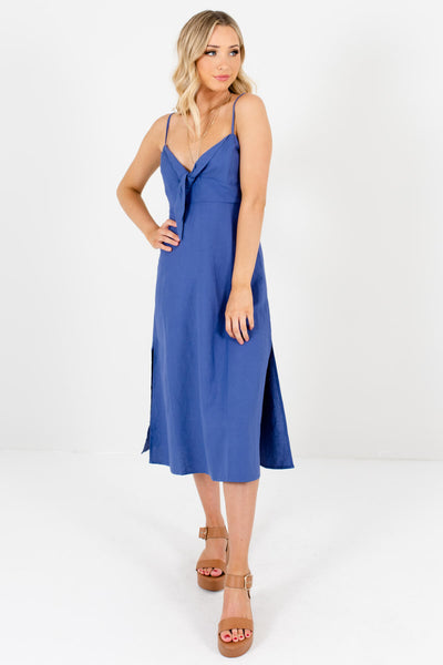 Women's Indigo Blue Spring and Summertime Boutique Clothing