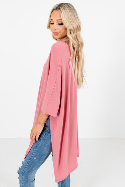 Women's Pink Cute and Comfortable Boutique Tops