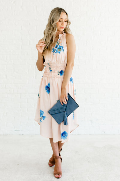 Peach Pink Women's Boutique Sundresses