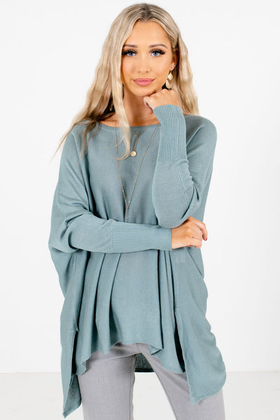 Women's Blue Spring and Summer Boutique Clothing