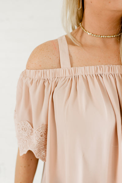 Blush Pink Affordable Online Plus Size Boutique Clothing for Women