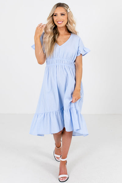 Women's Light Blue Spring and Summertime Boutique Clothing