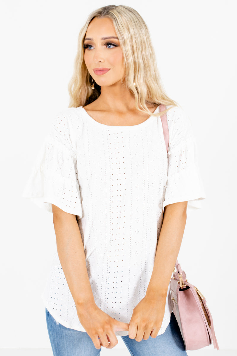 Just You & I White Blouse