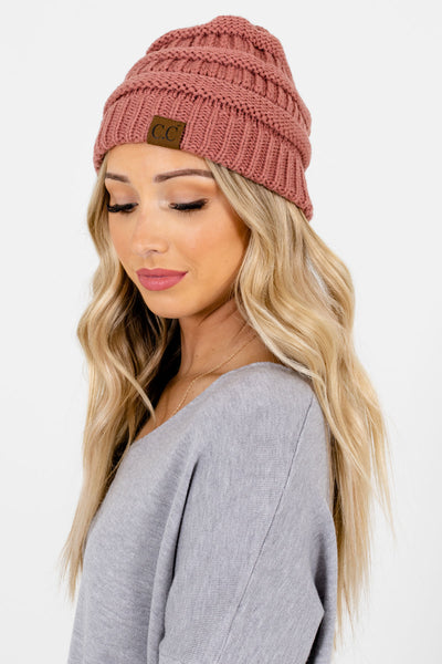 Pink Cute and Comfortable Boutique Beanies for Women