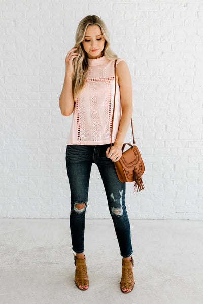Light Pink Affordable Online Boutique Clothing for Women