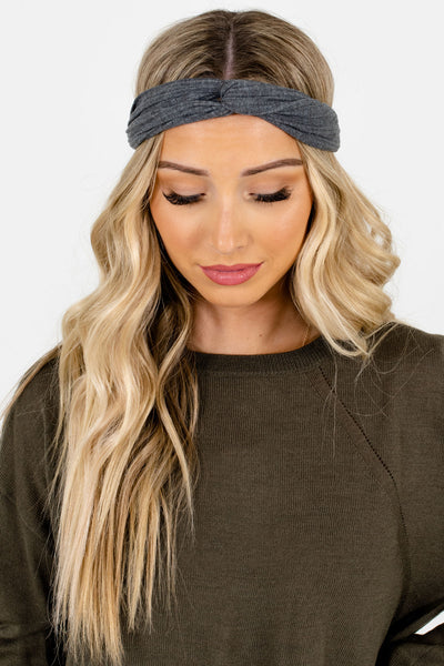 Women's Gray Boutique Accessories