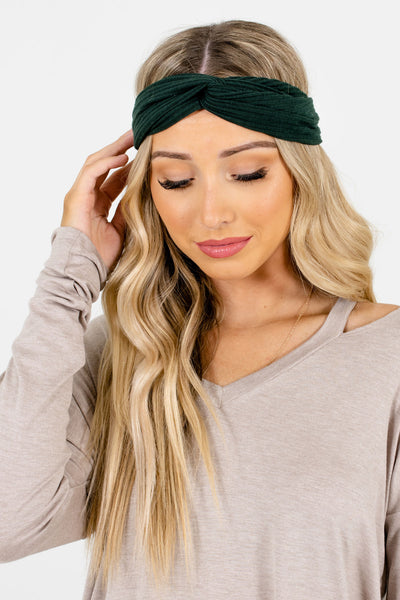 Women's Green Boutique Accessories