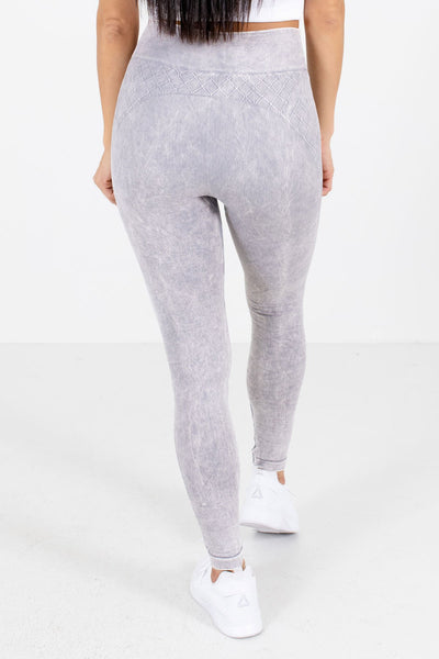 Women's Lavender High Waisted Style Boutique Active Leggings
